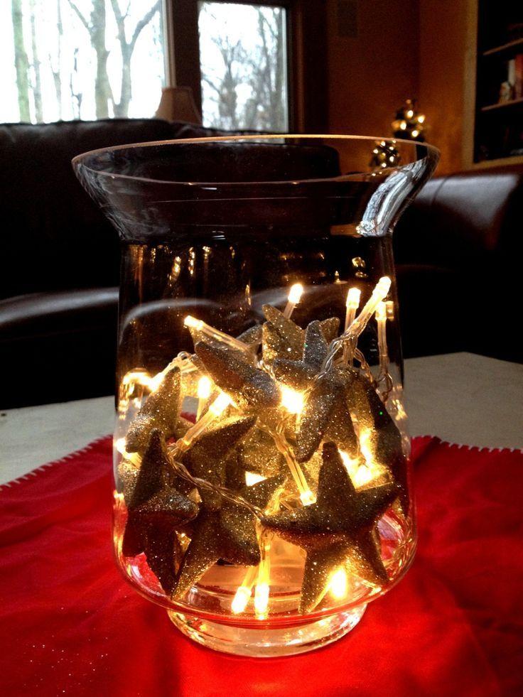 Resultado de imagen para star candle centerpiece   decoración ...