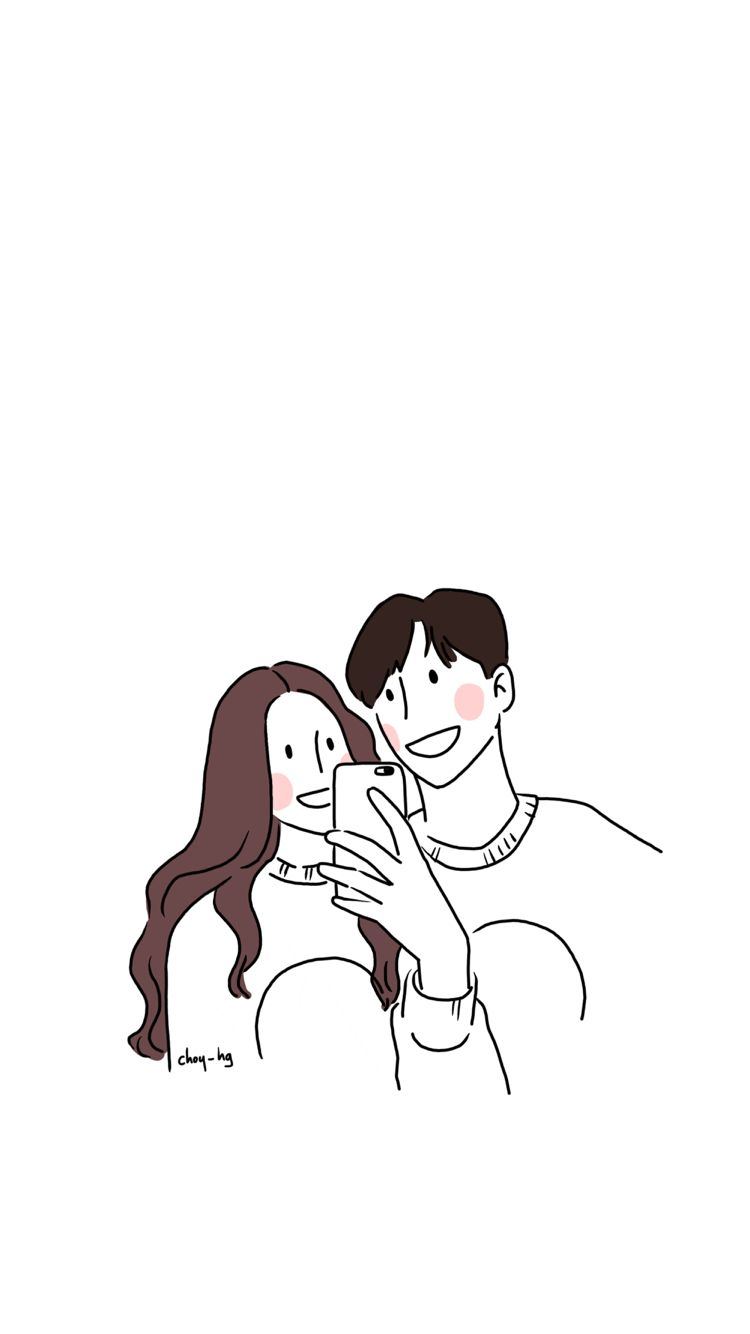 Iphone Background Illustration Illust การวาดคาแรคเตอร วอลเปเปอร ขำๆ การ ต น