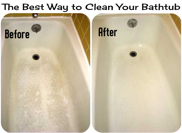 Diy Projects: The Best Way To Clean Your Bathtub