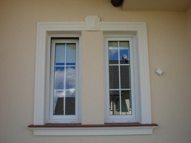 Schmale Fenster Kein Problem Wir Stellen Fur Sie Die Passende Elemente Her Stuckleisten Stuckleisten Styropor Fassadenprofile