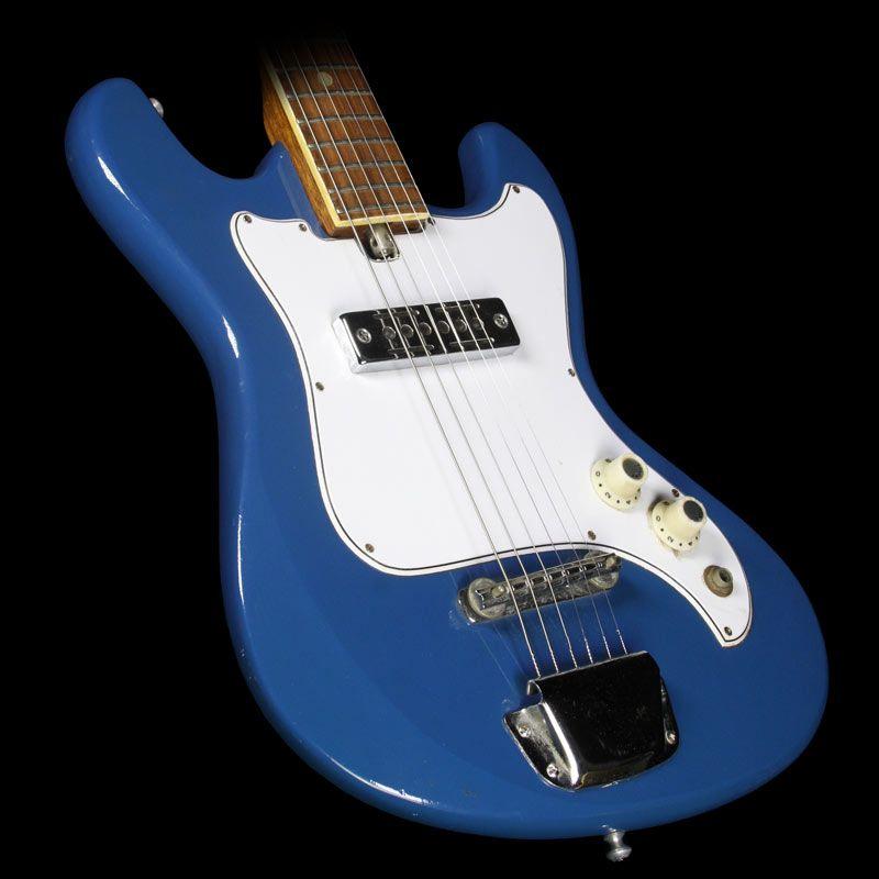 used 1960 39 s kawai telestar electric guitar blue vintage guitars guitar vintage guitars music. Black Bedroom Furniture Sets. Home Design Ideas
