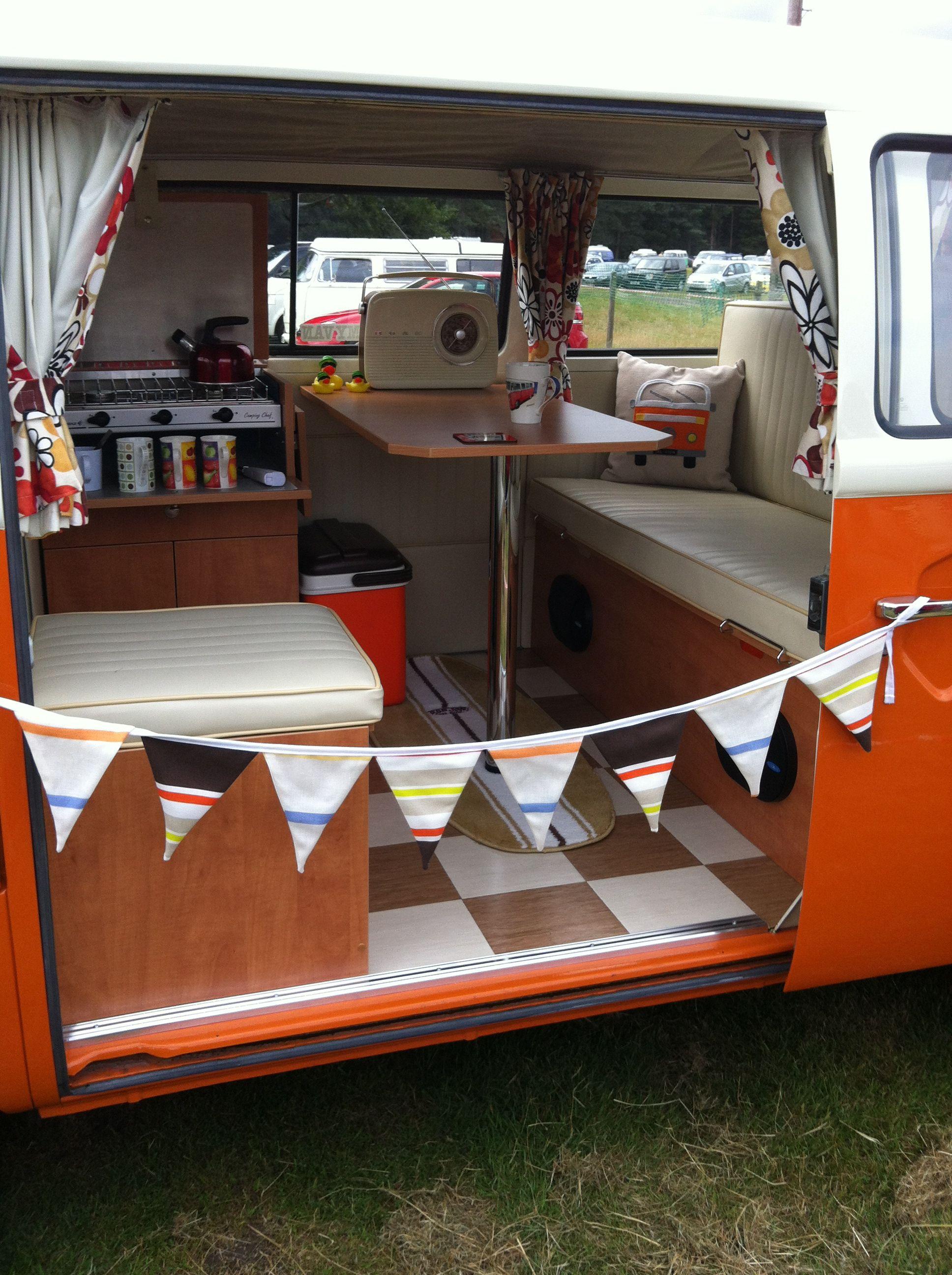 15 Dreamy Camper Van Interiors That Will Inspire Your