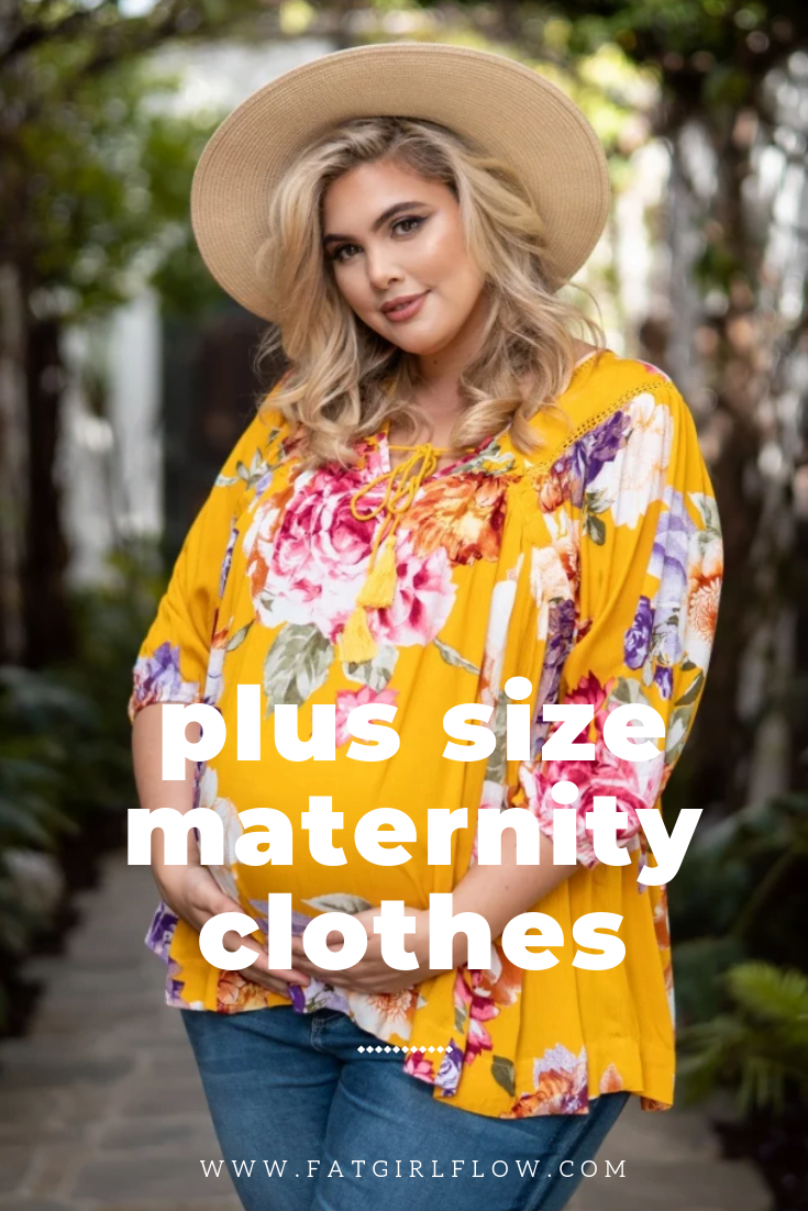 Photo of Where to Shop For Plus Size Maternity Clothing