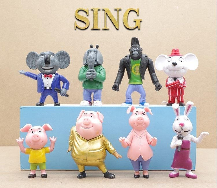 Sing Movie Cake Toppers