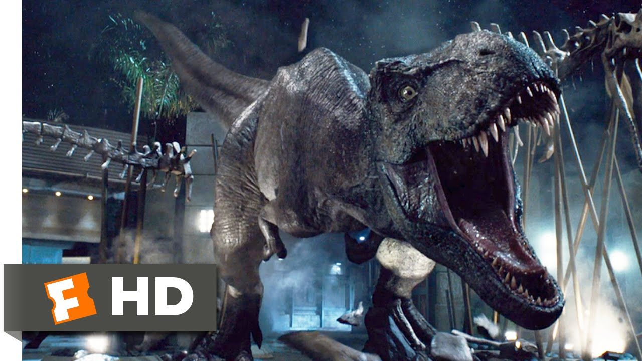 Jurassic World 2015 T Rex Vs Indominus Scene 9 10 Movieclips In 2020 Largest Dinosaur Jurassic World 2015 Jurassic World