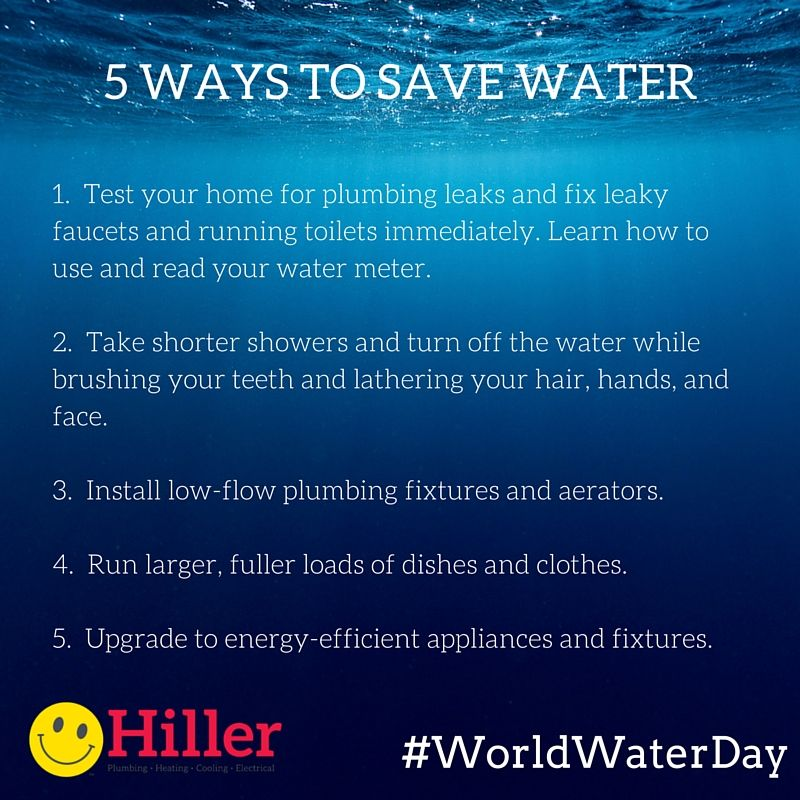 Earth day eco tips for saving energy living a greener for How to save water in your house
