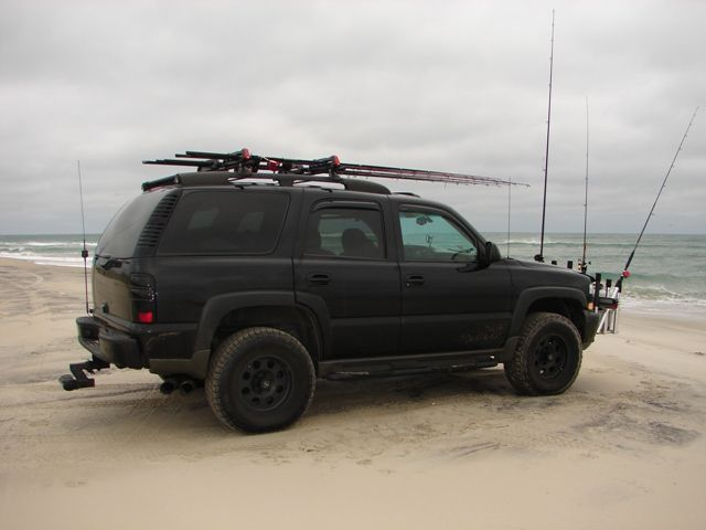 Modded For Surf Fishing Lifted Chevy Tahoe Chevy Tahoe Chevy Suburban