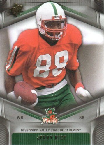 brand new 03b7a b1776 2012 Upper Deck SPx Football #26 Jerry Rice Mississippi ...