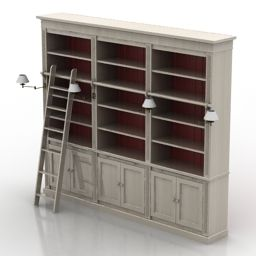 Download 3D Bookcase