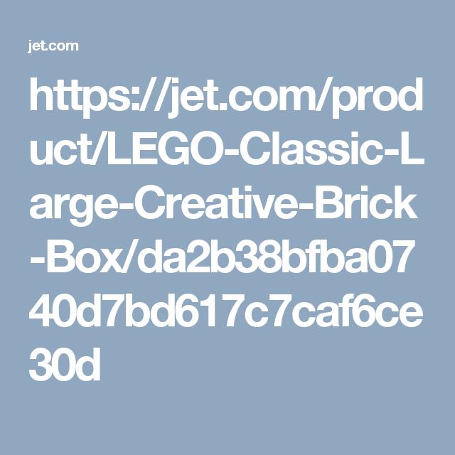 bulk lego set- Jet has a coupon for 15% off