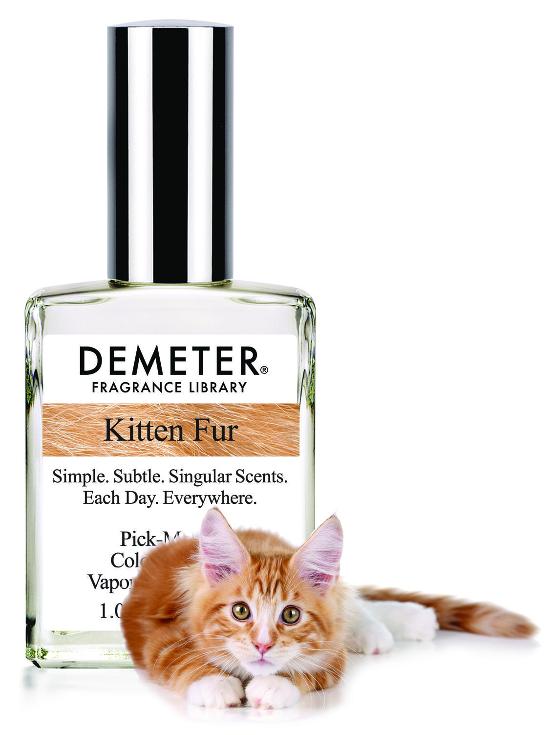 Catnip And Caviar Dreams Kitten Fur Perfume Is Here Demeter