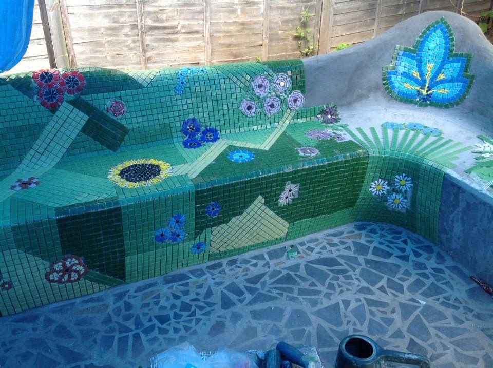 Brilliant Diy Concrete Creations Gorgeous Diy Mosaic Garden Inzonedesignstudio Interior Chair Design Inzonedesignstudiocom