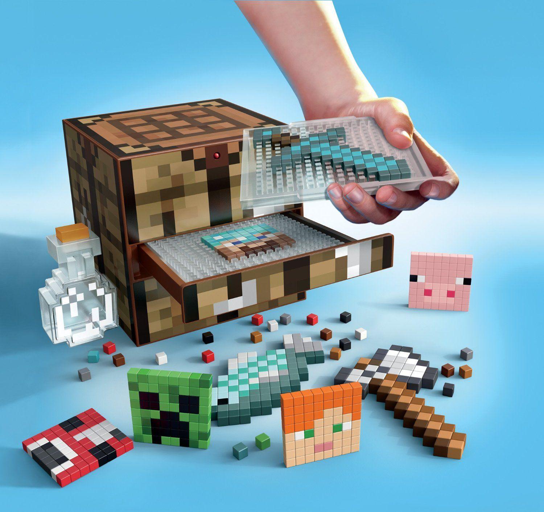 Amazon.com: Minecraft Crafting Table: Toys & Games | Minecraft ...