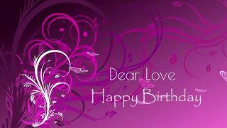 Happy Birthday Wishes For Lover Whatsapp Status Videos Pinterest
