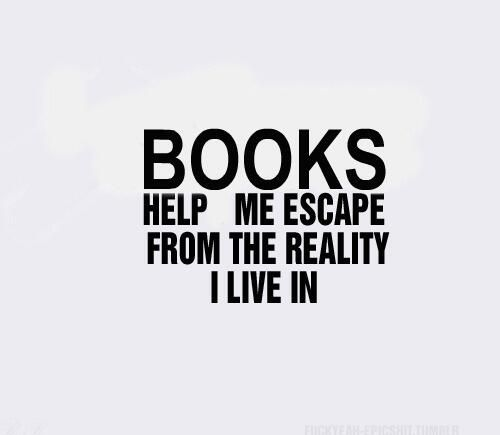 I love to read because..