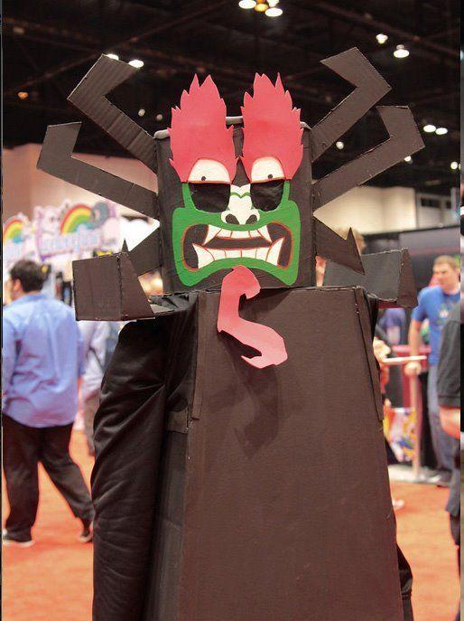 Samurai jack aku cosplay
