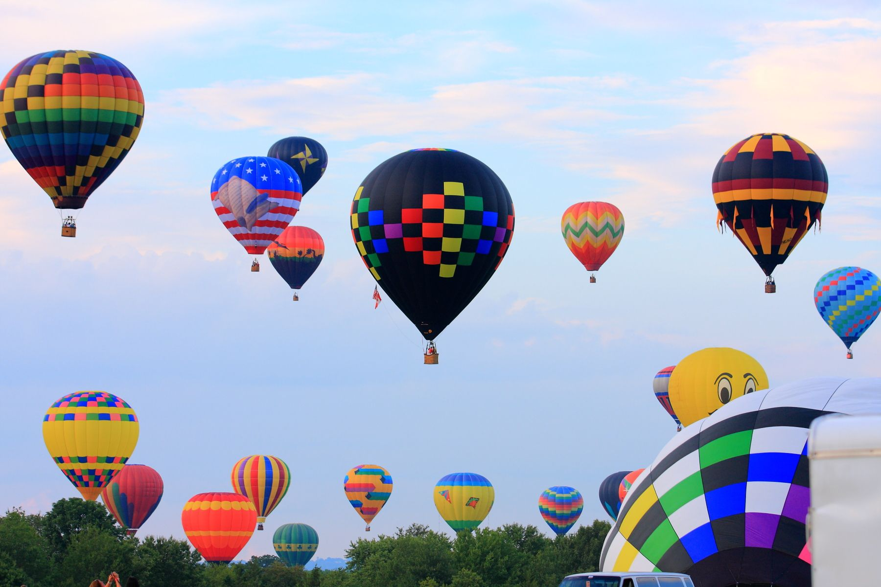 NJ Festival of Ballooning is an annual 3day event held
