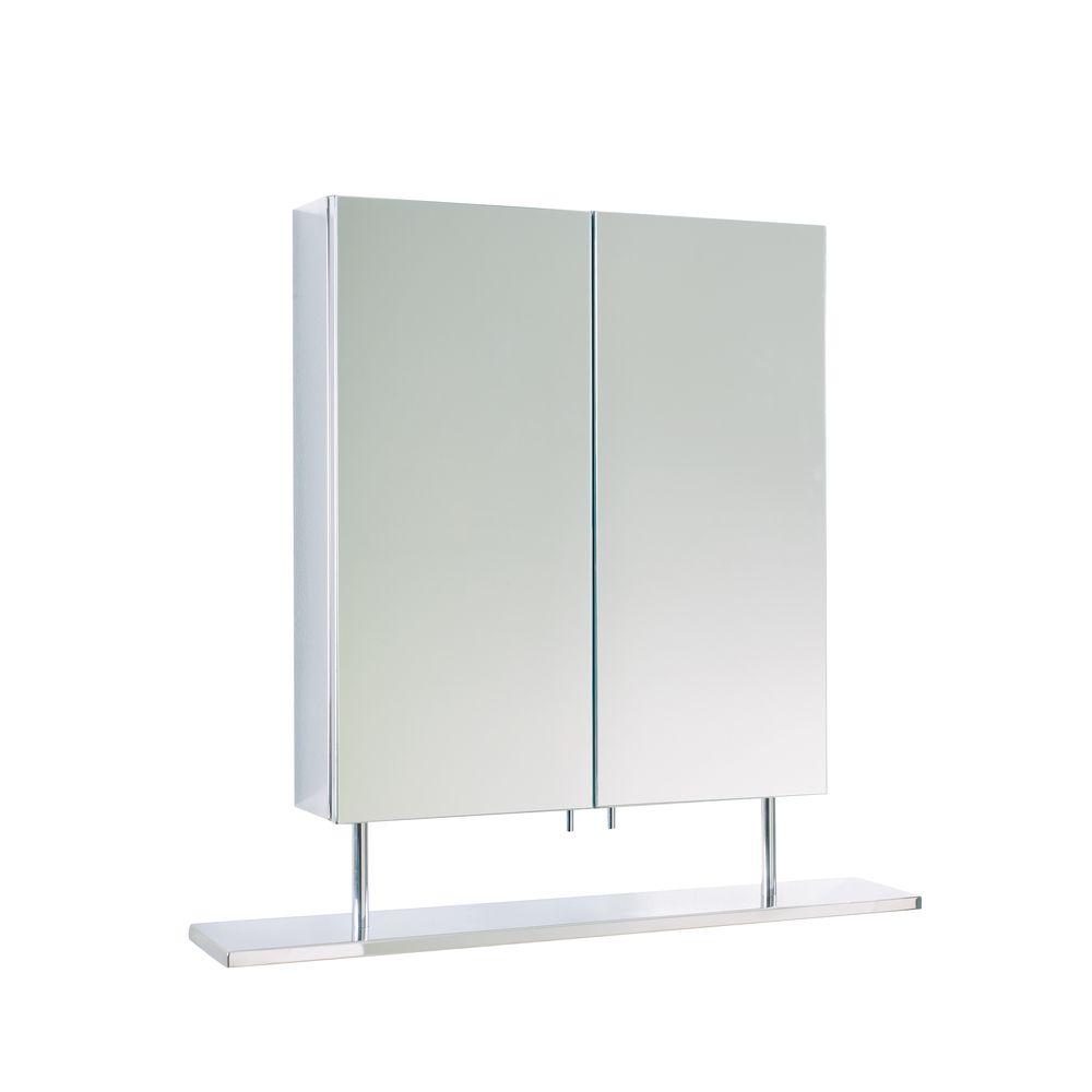 dwell - Pristine bathroom cabinet double door with shelf £129 ...