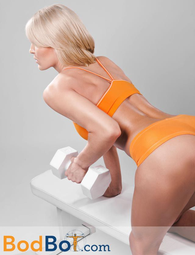 Bent-over dumbbell row | BodBot's Beauties | Pinterest ...