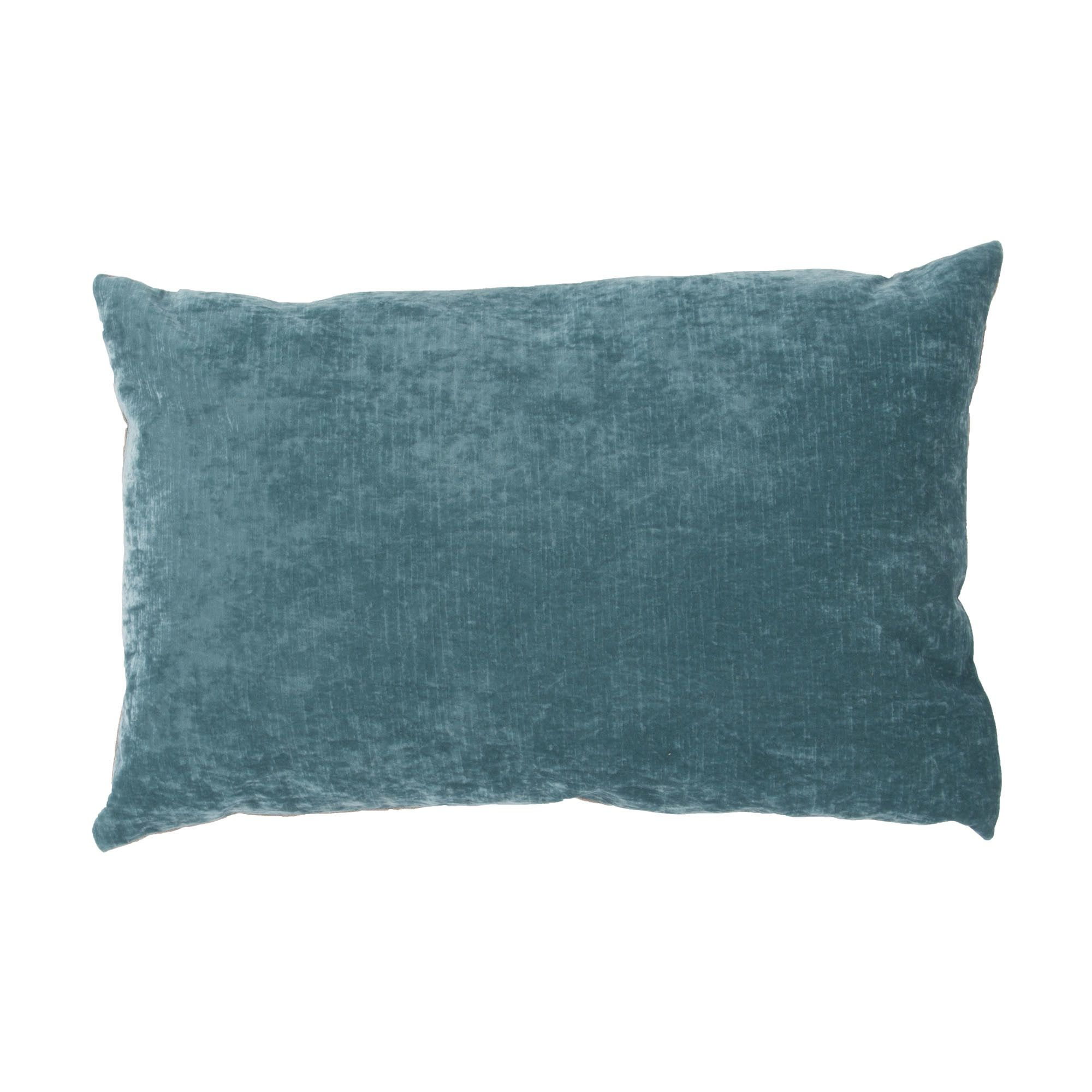 Luxe Solid Lumbar Pillow