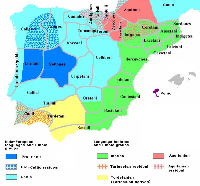 mapa portugal wikipedia Ethnographic Iberia 200 BCE   Portugal – Wikipédia, a enciclopédia  mapa portugal wikipedia