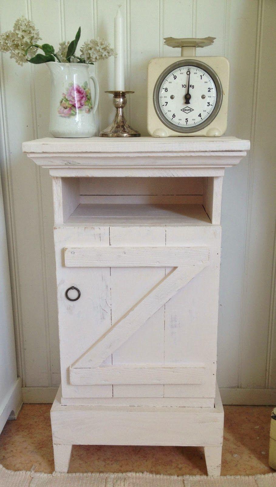 HIMLARUM - möbler shabby chic : Vänd dörr gav nytt skåp ...