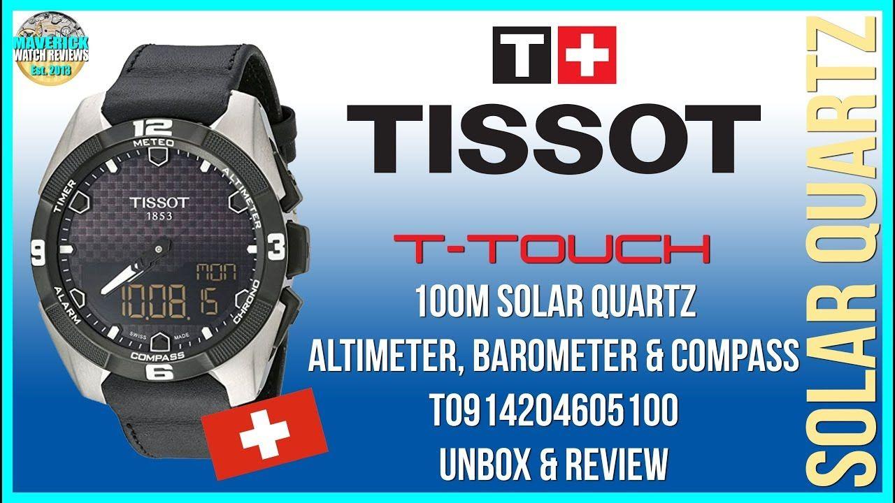 Maverick's First Full Review! Tissot TTouch 100m Solar
