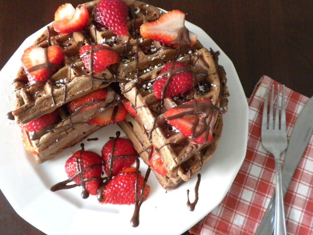 Belgian Chocolate Waffles | Chocolate waffles, Belgian chocolate ...