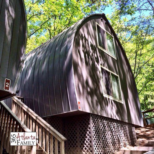 "Lodge at Unicoi State Park: We stayed in the ""barrel"" cabins at the park, adventuring on the trails and in the lake."