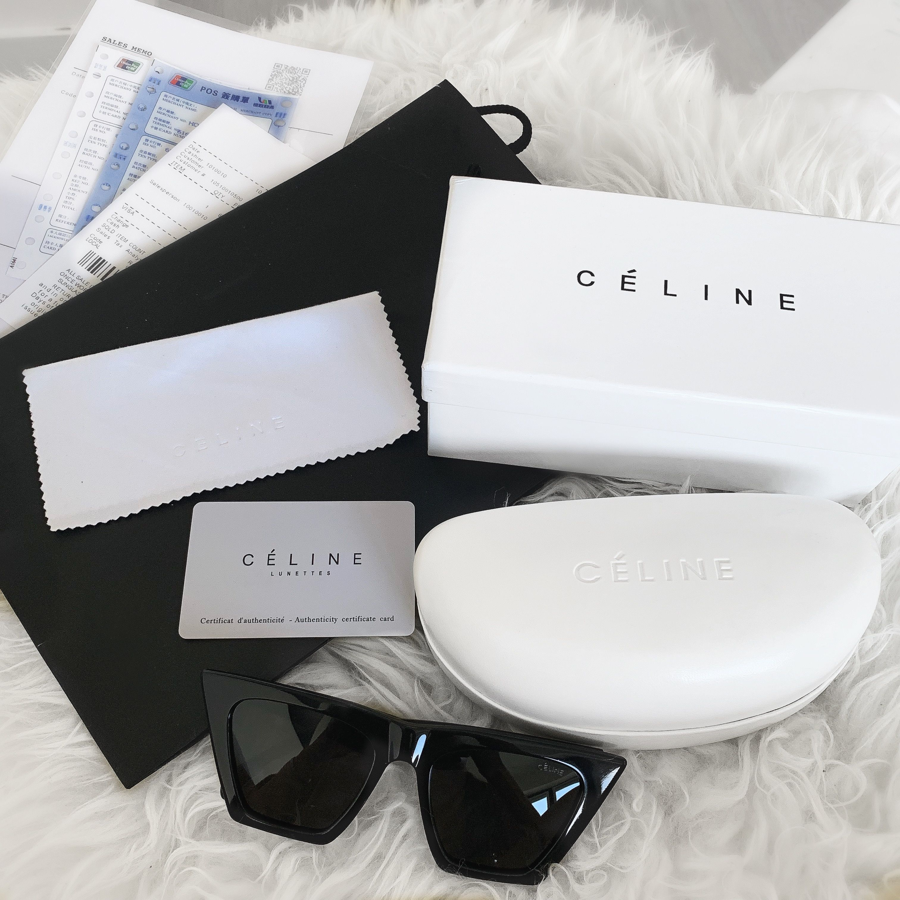 Celine edge sunglasses Black sunglasses women