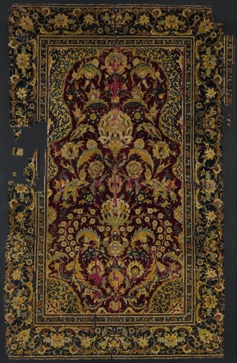 Met Islamic Art Prayer Rug ArtMedium Silk