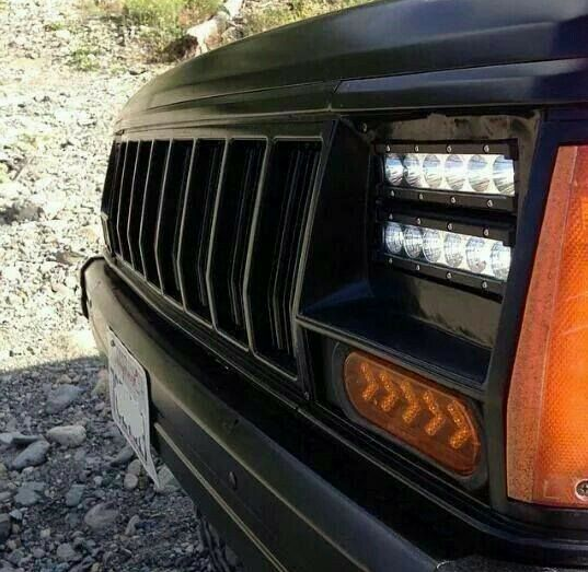 Off Road Headlights Jeep Xj Mods Jeep Cherokee Xj Jeep Wj