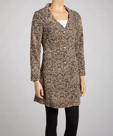 Loving this Ash Lace Collar Jacket on #zulily! #zulilyfinds