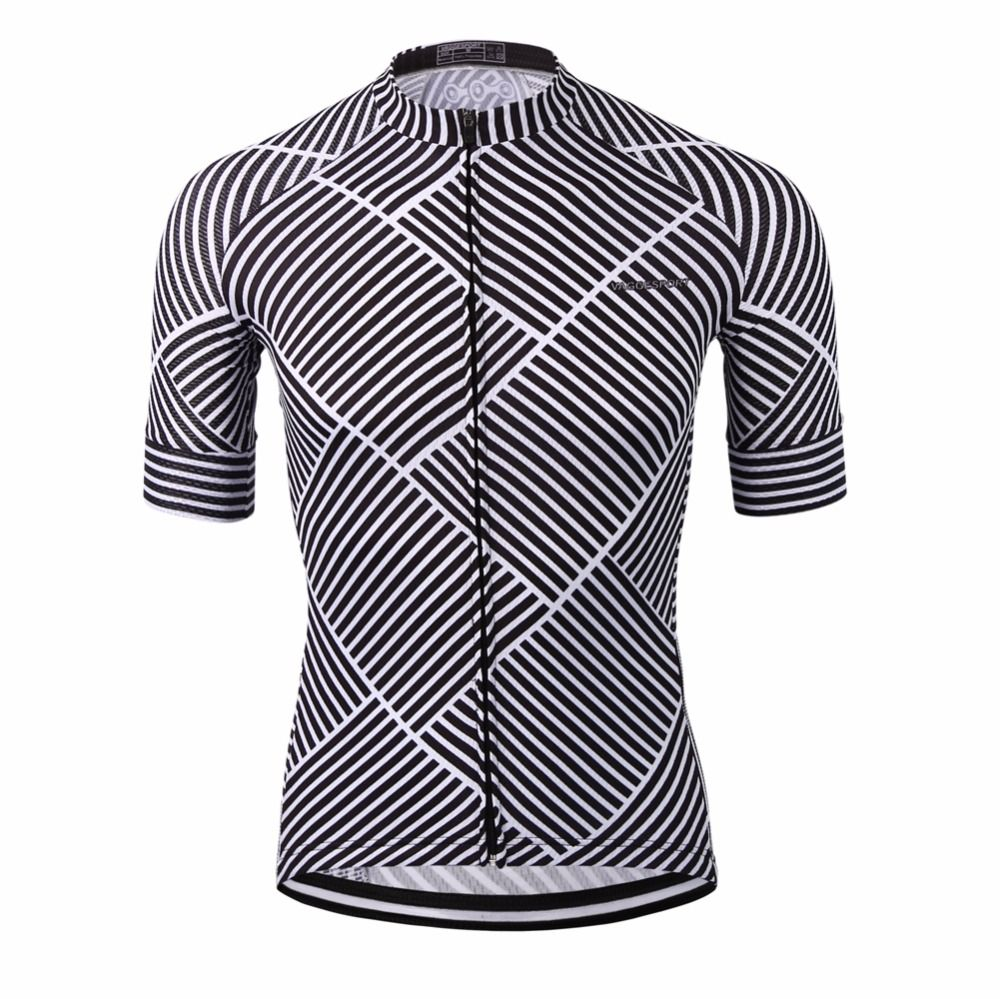 Jackbroad Premium Quality Bike Bicycle Cycling Short Sleeves Jersey Blue
