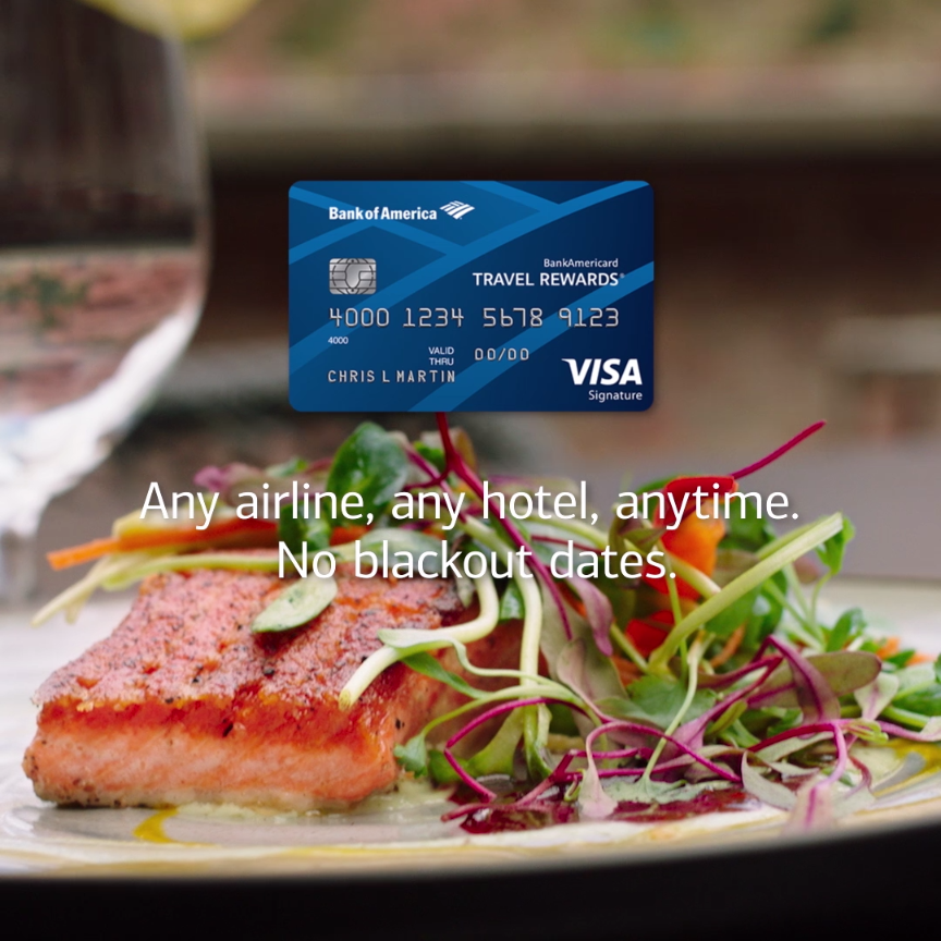Indulge your craving. Book a tasty adventure with the Travel Rewards credit card. Any airline, any hotel, anytime—no blackout dates. Learn more.