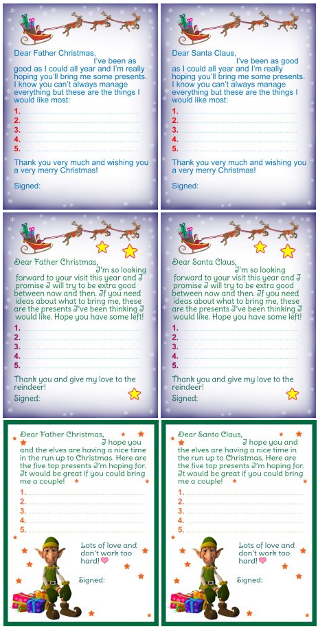 4e44eb7ddcd4f4d38e8a4c1879ffc538 Dear Santa Letter Template Printable Kindergarten on stationery free, black free,