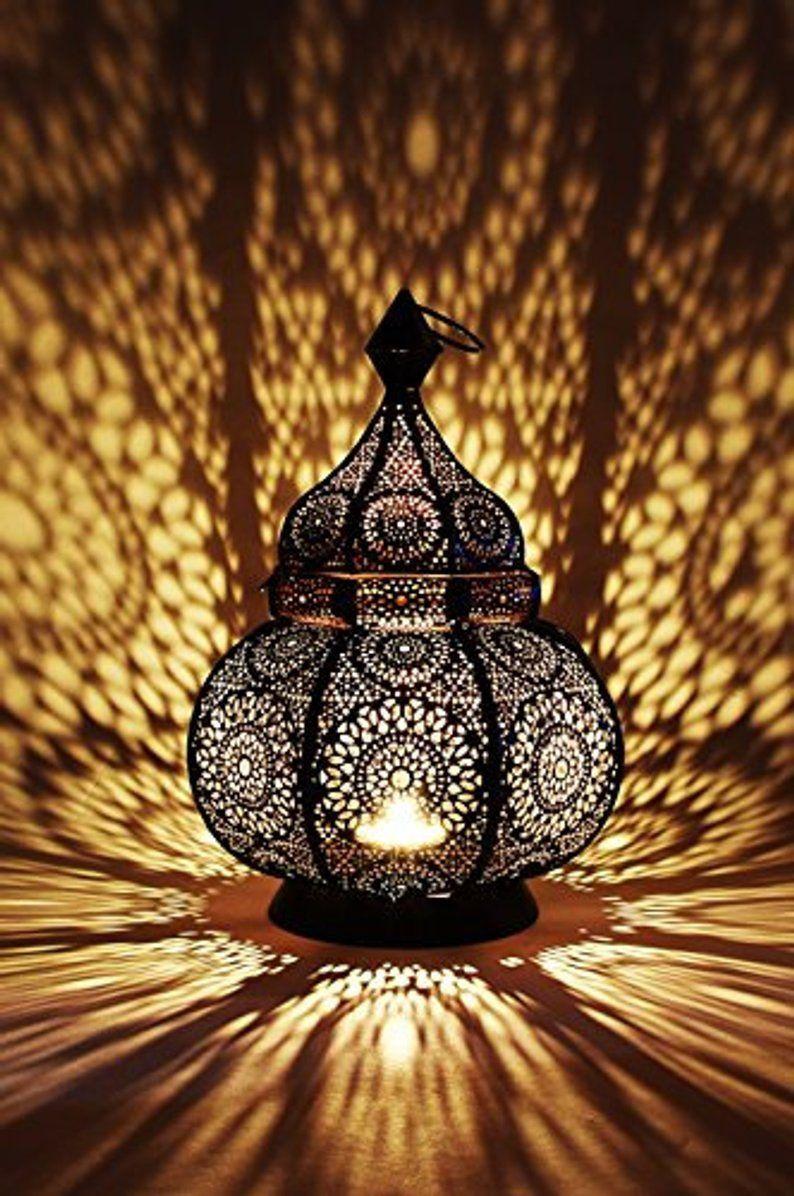 Moroccan Lantern Design  Vintage Decor lamp Spectacular Play | Etsy