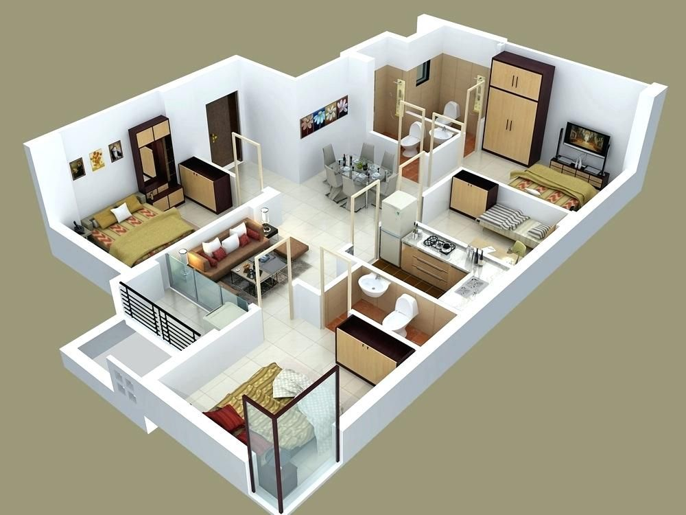 Duplex House Design Plan And Tips To Build It At Low Cost Duplex House Design Bedroom House Plans Floor Plan Design