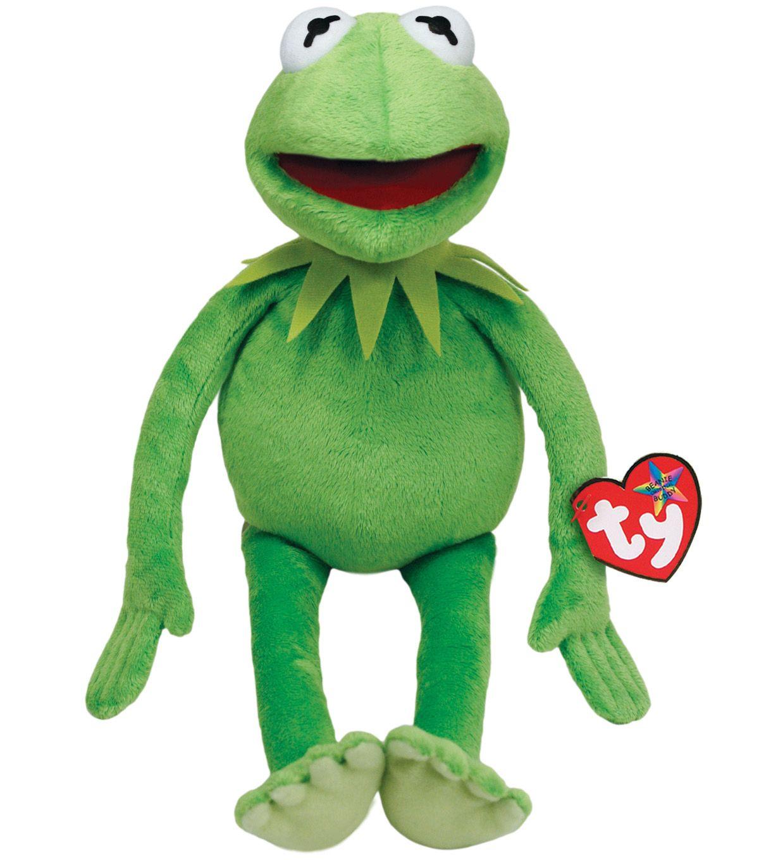 Image Result For Christmas Carol Tiny Tim Puppet: Ty Kermit The Frog Medium Plush