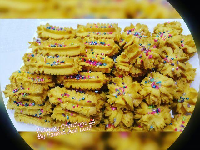 Custard Biscuits Recipe By Fatima A Latif Recipe Biscuit Recipe Indian Dessert Recipes Butter Biscuits Recipe