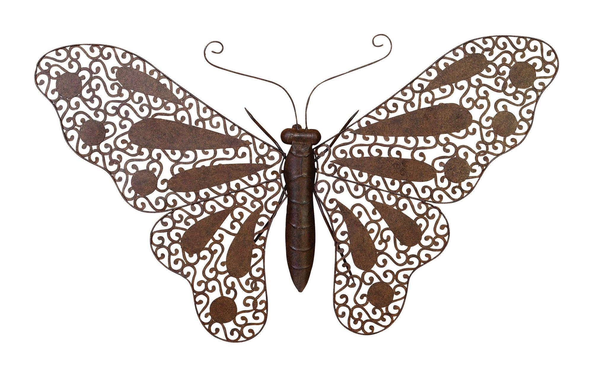 Nature fresh metal butterfly wall décor products pinterest