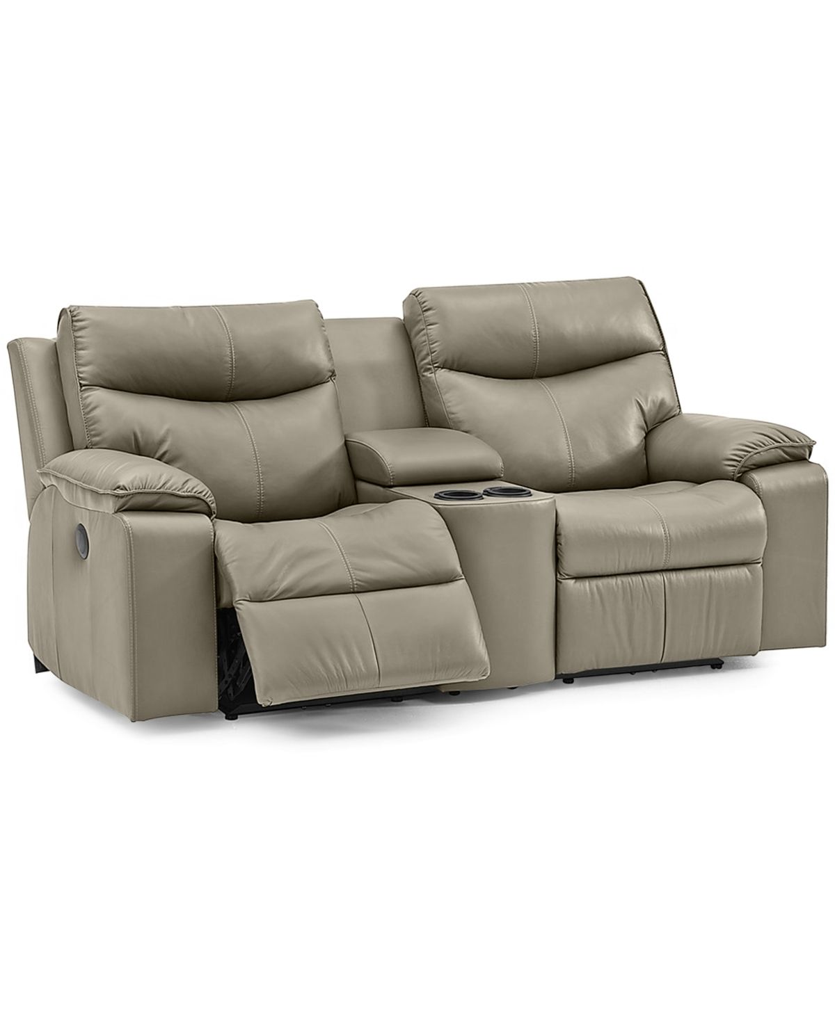 Furniture Ronse 77 Leather Power Recliner Loveseat With Console Reviews Custom Couches Sofas Furniture Macy S Power Recliners Custom Couches Love Seat