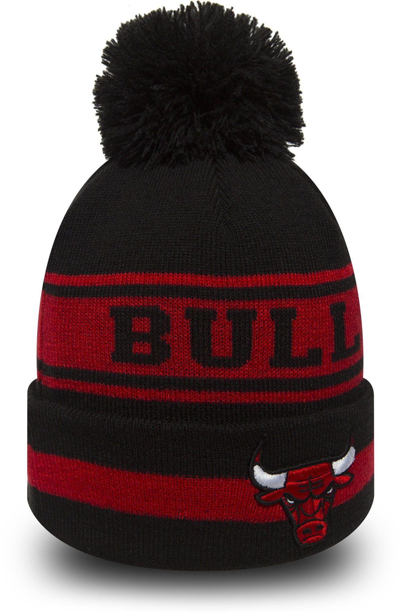 online store 6aab2 2094a Chicago Bulls New Era NBA Team Jake Bobble Hat – lovemycap