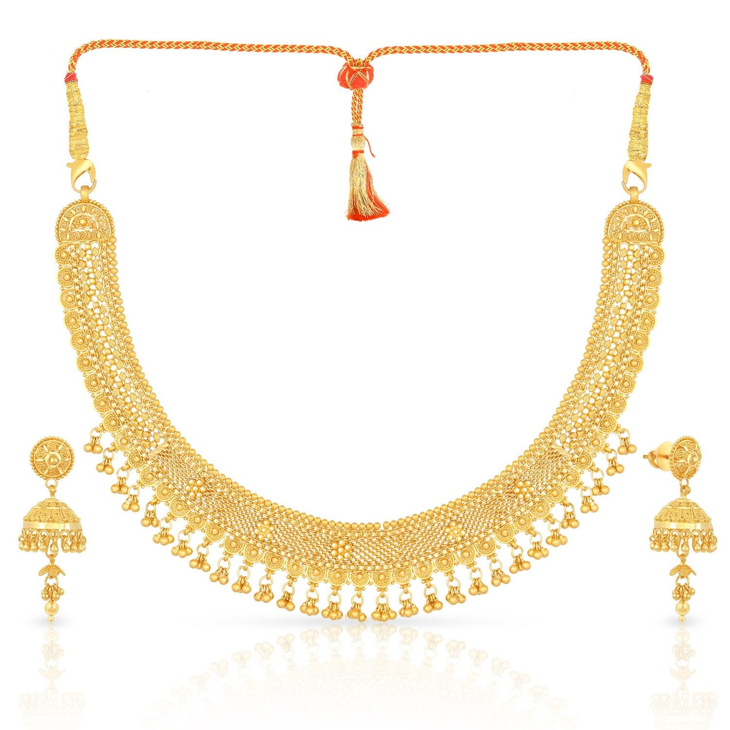 malabar gold necklace set mhaaaacplblj blings baubles. Black Bedroom Furniture Sets. Home Design Ideas