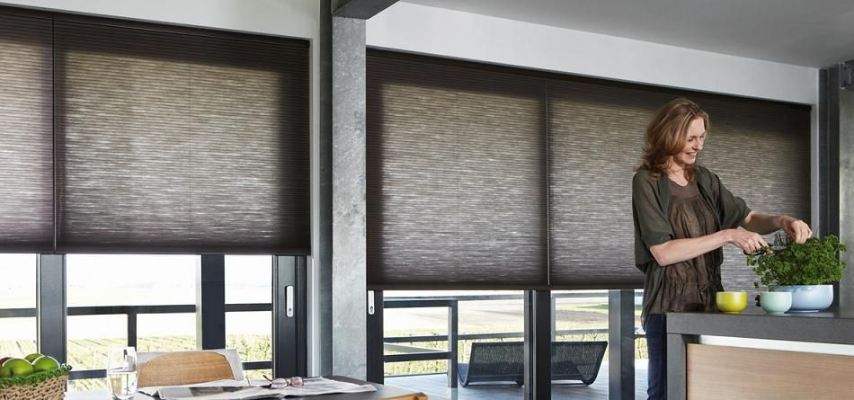 Made to Measure Duette Blinds from Luxaflex | Duette gordijnen ...