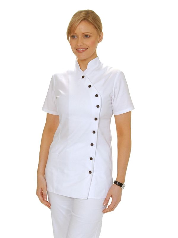 Nurses uniform chinese design google search stylish for Spa uniform china