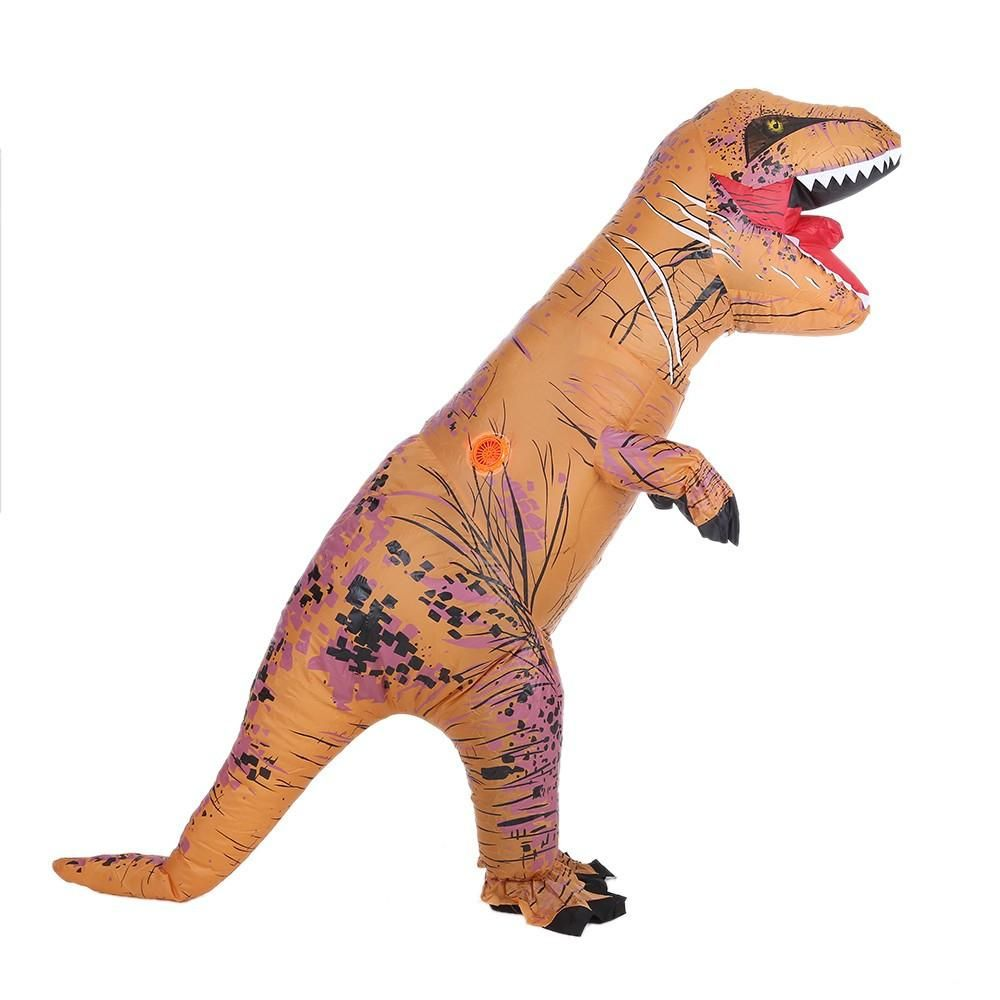 Lacking in ideas for your fancy dress party  Why not come to this inflatable  dinosaur costume 16ee13ebb710