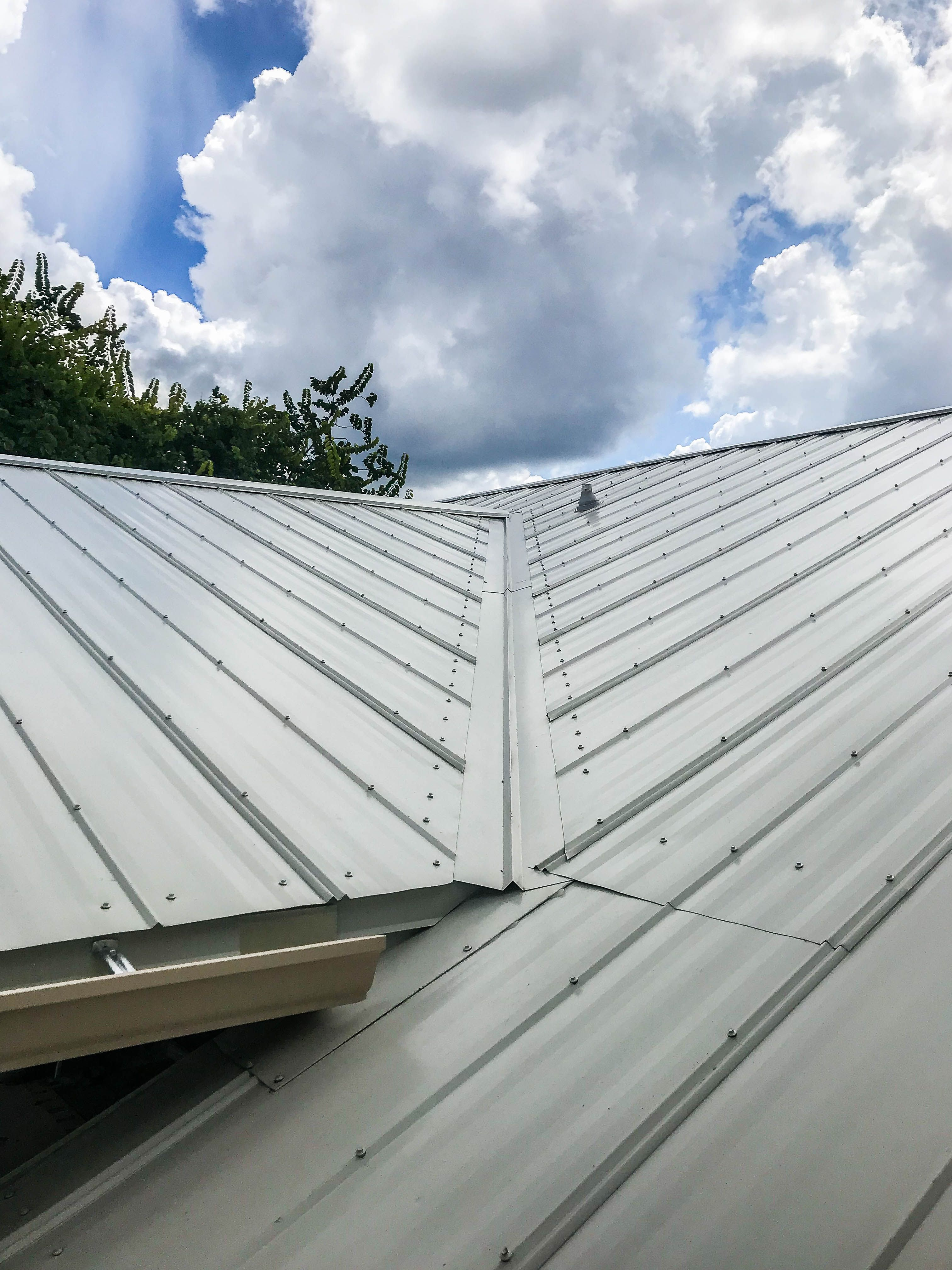 Mapi 5 V Metal Roofing System Fabricated And Installed By Mullet S