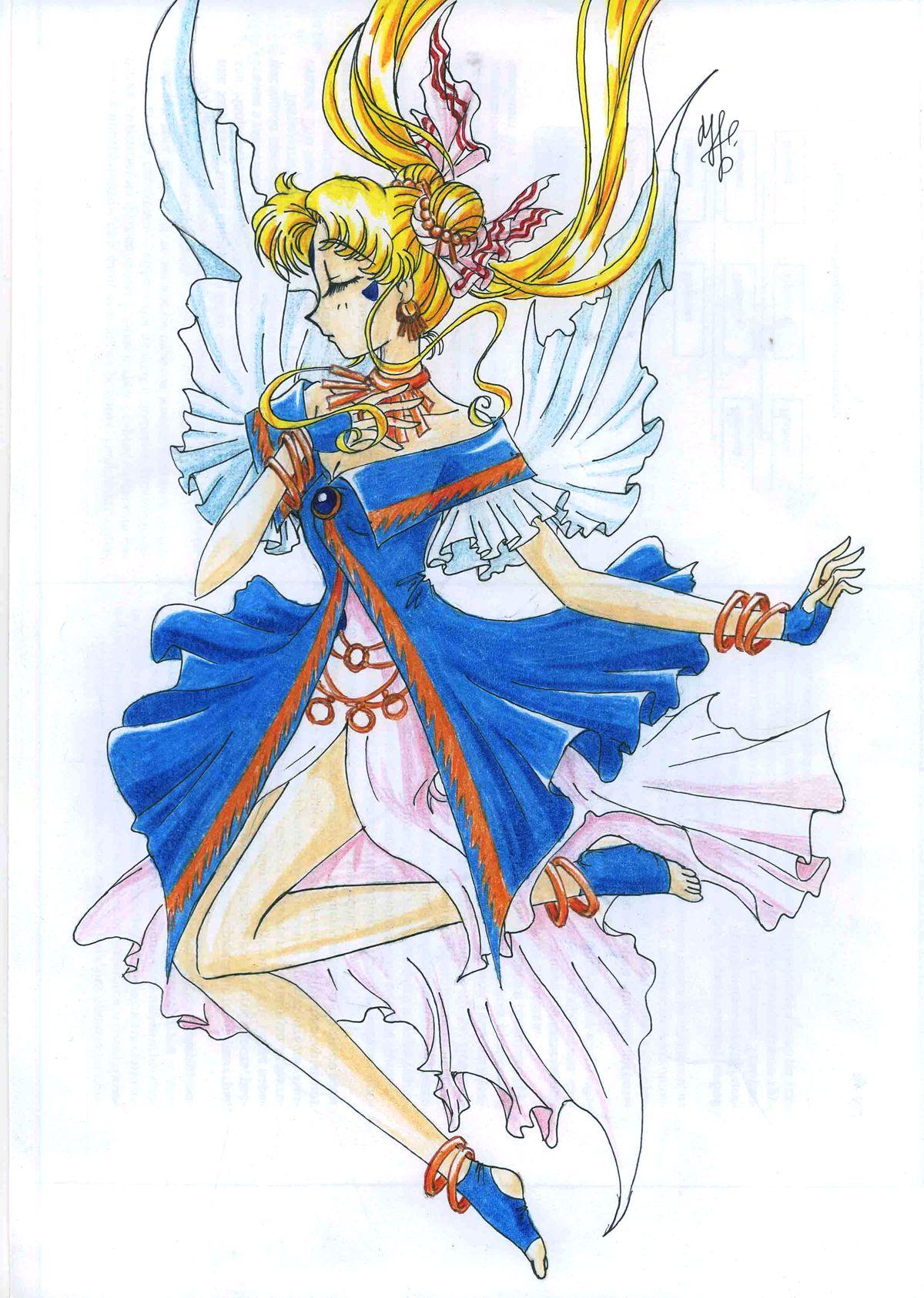 #Belldandy x #SailorMoon