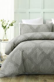 Accessorize Annabella Jacquard Qcs Kb Quilt Cover Home Bed